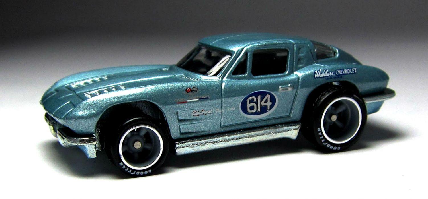 1963 Chevrolet Corvette Stingray supercar supercars muscle classic hot rod rods race racing hot-wheels wallpaper