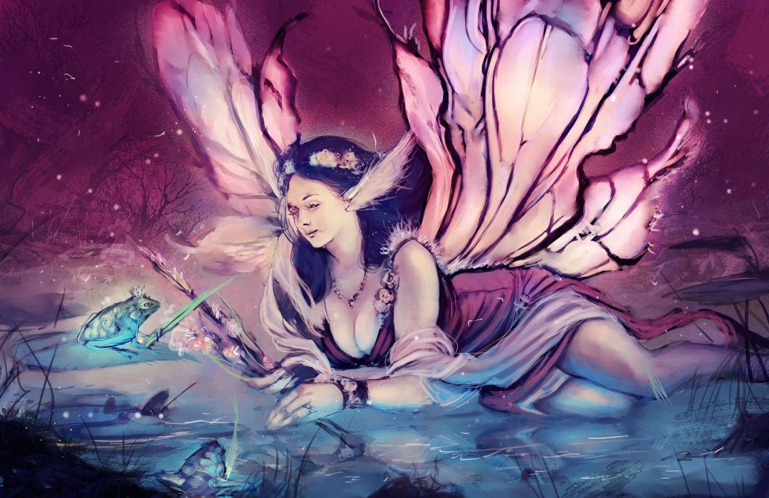 Fairies Wings Fantasy Girls fairy wallpaper