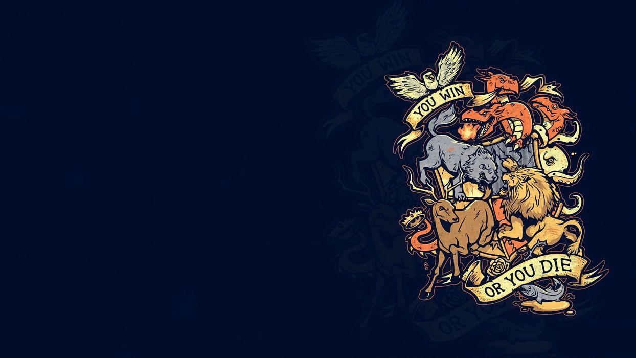 Game of Thrones fantasy crest     g wallpaper