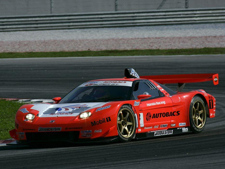 2002aei10 Honda NSX GT500 NA2 race racing supercar supercars      gd wallpaper