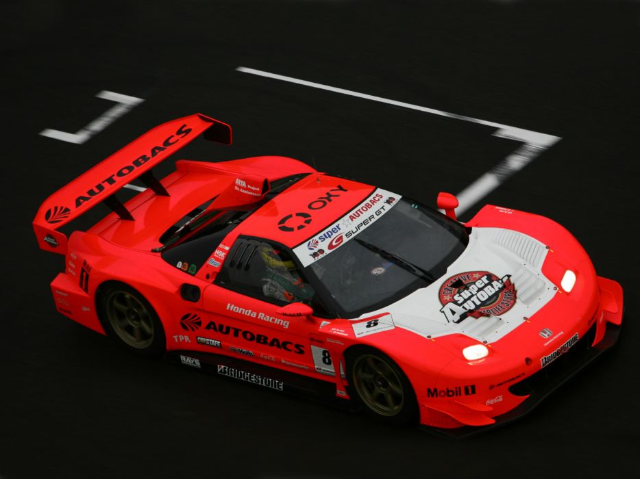 2002aei10 Honda NSX GT500 NA2 race racing supercar supercars     g wallpaper
