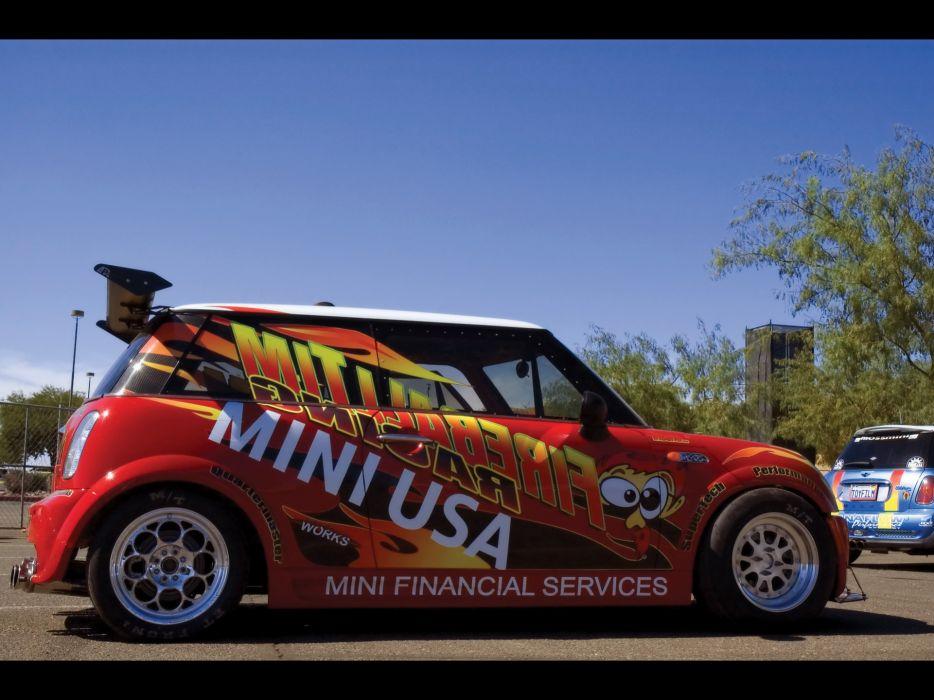 2005 Mini Cooper Fireball Tim-Racing Dragster race racing tuning    f wallpaper