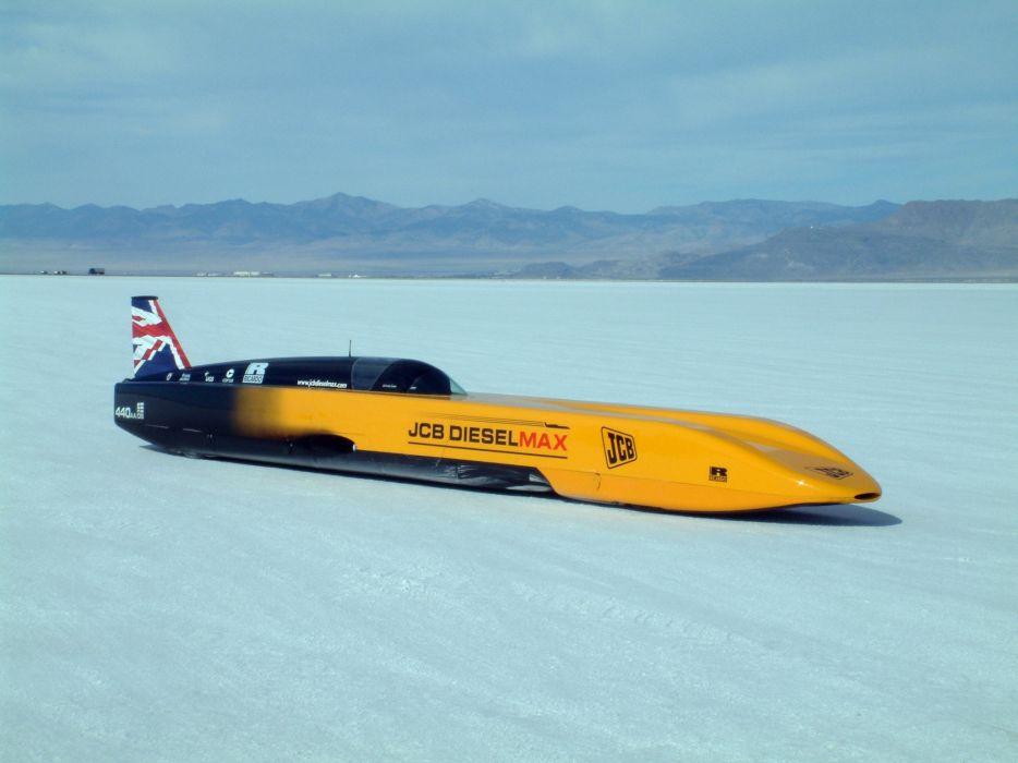2006 JCB Dieselmax Record-Car race racing supercar supercars   f wallpaper