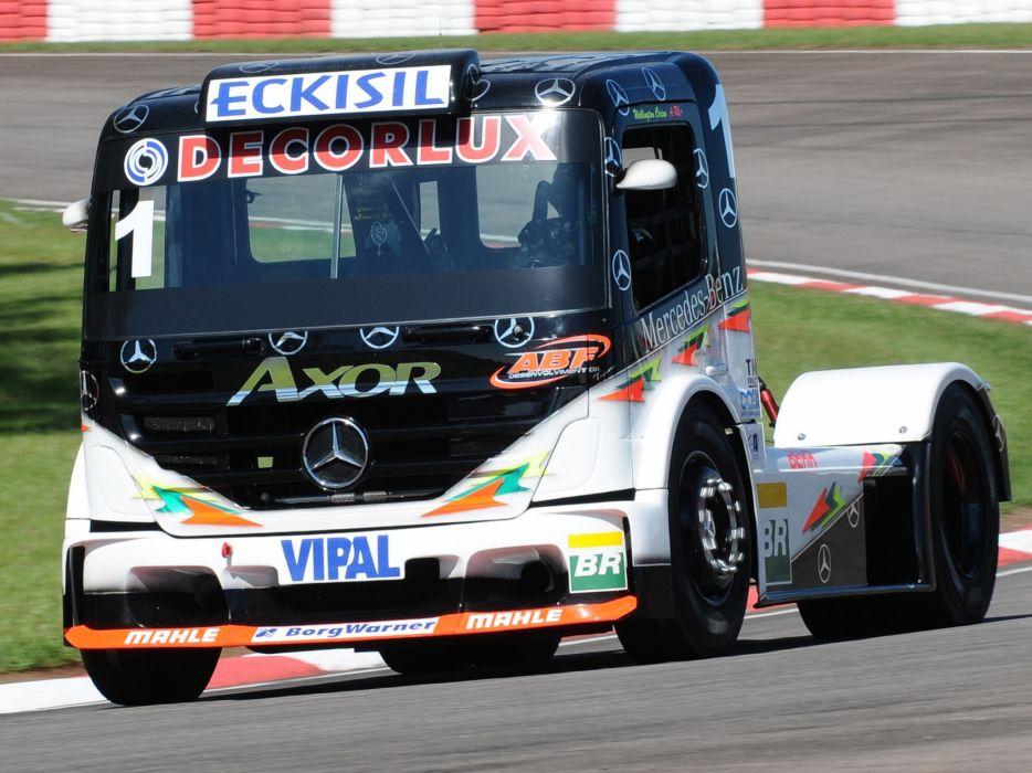 2006 Mercedes Benz Axor Formula Truck tractor semi rig rigs race racing    f wallpaper