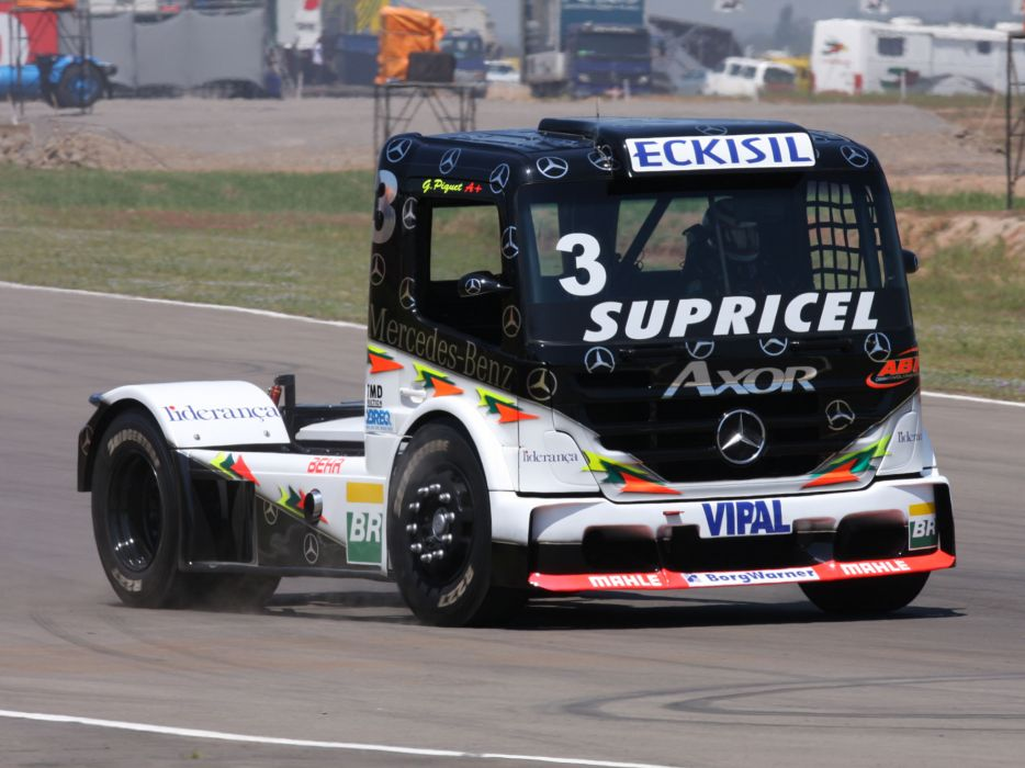 2006 Mercedes Benz Axor Formula Truck tractor semi rig rigs race racing wallpaper