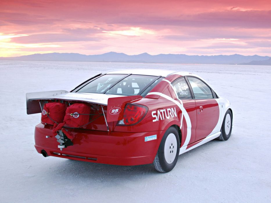 2006 So Cal Saturn Ion Red Line Quad Coupe Record Car Race Racing