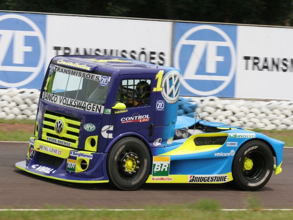 2006 Volkswagen Constellation Formula Truck race racing semi tractor rig rigs wallpaper
