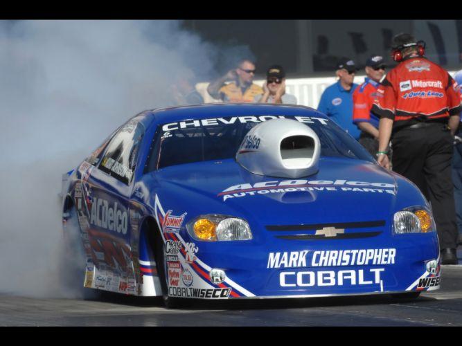 2008 Chevrolet Cobalt NHRA Pro Stock drag racing race hot rod rods burnout smoke wallpaper