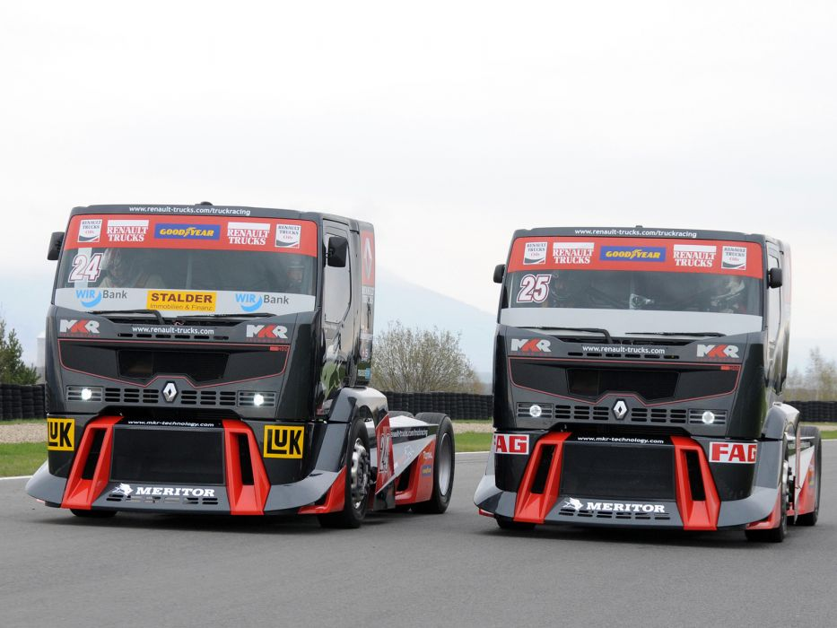 2010 Renault Premium Course Formula Truck tractor semi rig rigs race racing    g wallpaper