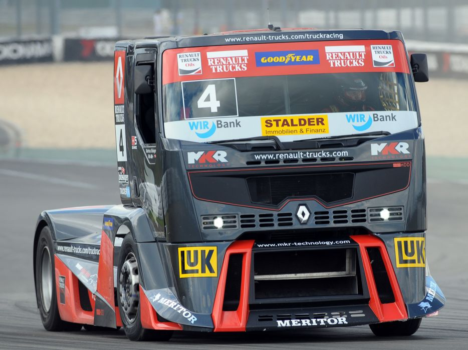 2010 Renault Premium Course Formula Truck tractor semi rig rigs race racing f wallpaper