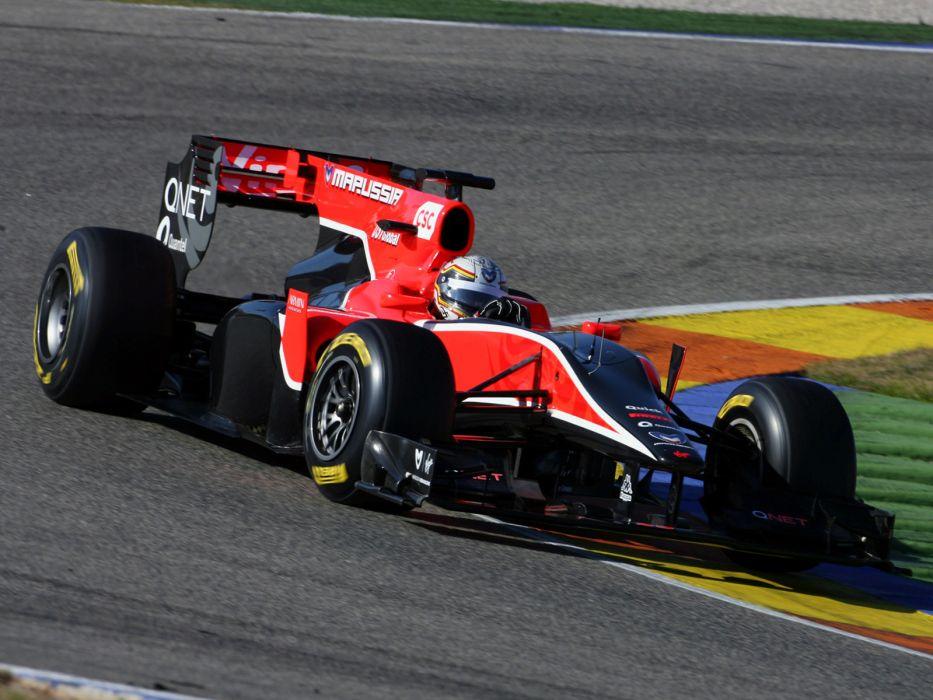2010 Virgin Racing VR-01 formula-1 formula one f-1 race racing      fs wallpaper