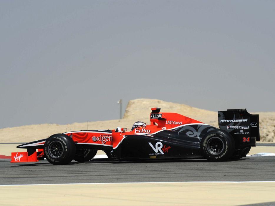 2010 Virgin Racing VR-01 formula-1 formula one f-1 race racing     g wallpaper
