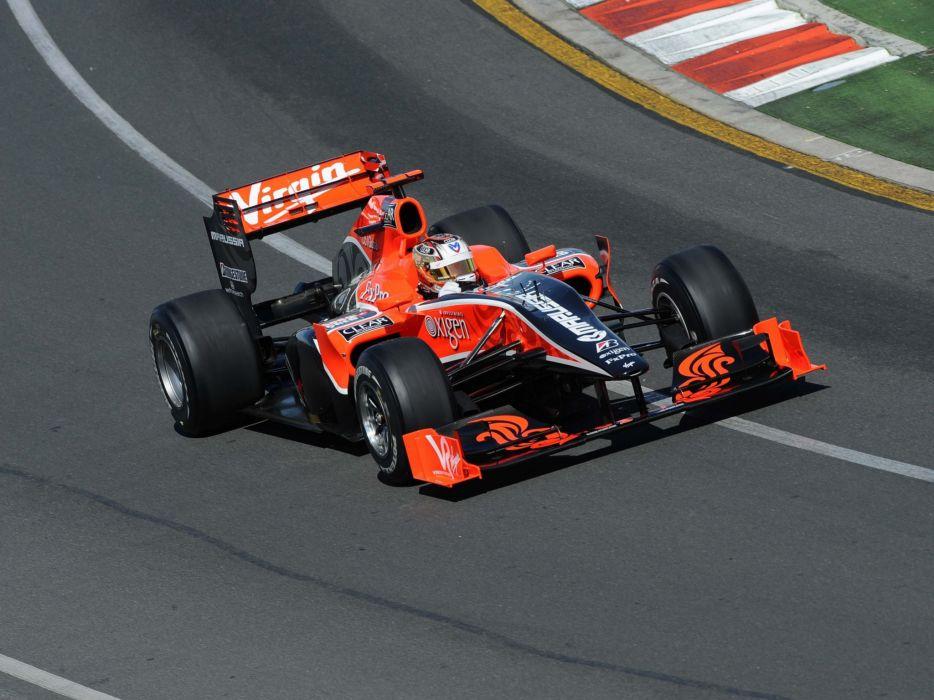 2010 Virgin Racing VR-01 formula-1 formula one f-1 race racing    d wallpaper
