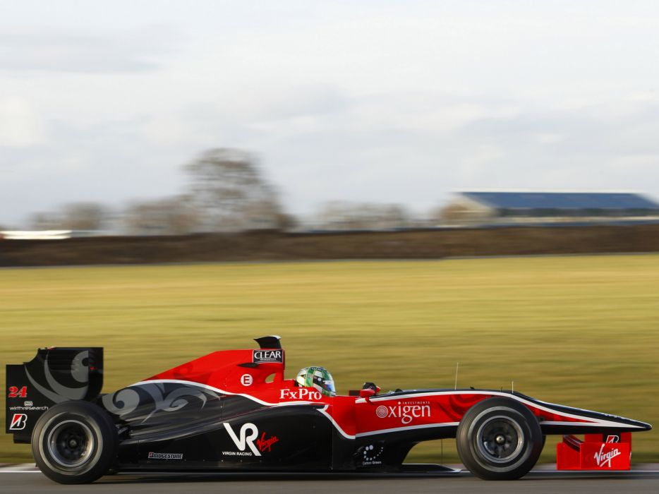 2010 Virgin Racing VR-01 formula-1 formula one f-1 race racing    fd wallpaper