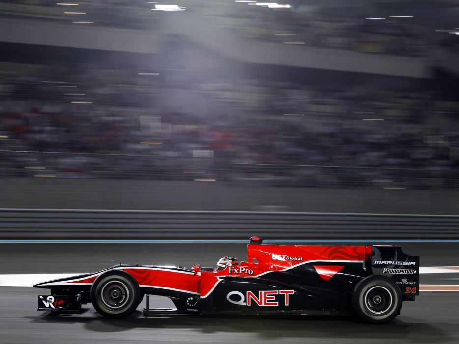 2010 Virgin Racing VR-01 formula-1 formula one f-1 race racing    r wallpaper