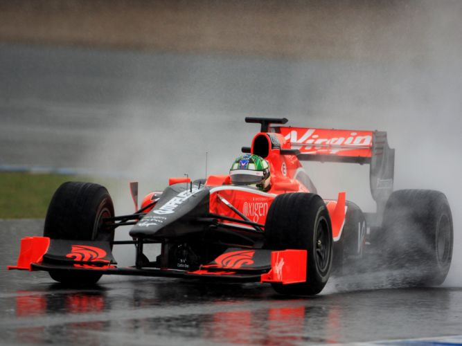 2010 Virgin Racing VR-01 formula-1 formula one f-1 race racing fq wallpaper