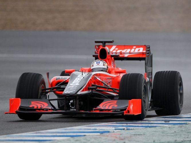 2010 Virgin Racing VR-01 formula-1 formula one f-1 race racing i wallpaper