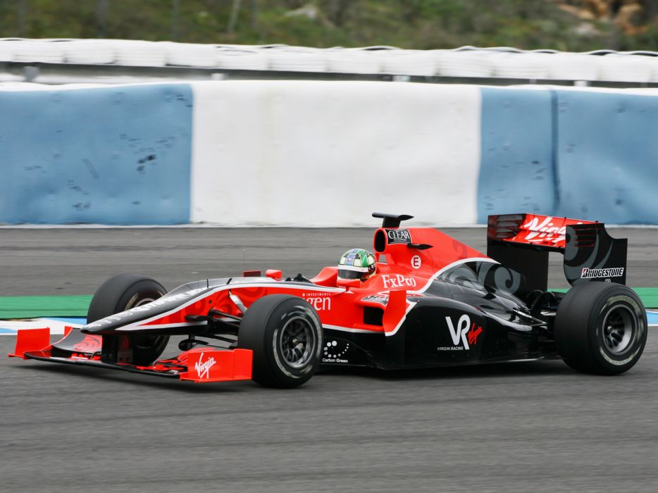 2010 Virgin Racing VR-01 formula-1 formula one f-1 race racing e wallpaper