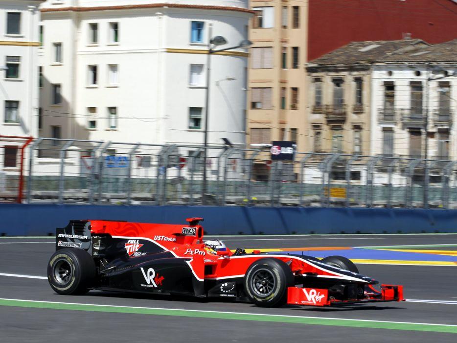 2010 Virgin Racing VR-01 formula-1 formula one f-1 race racing f wallpaper
