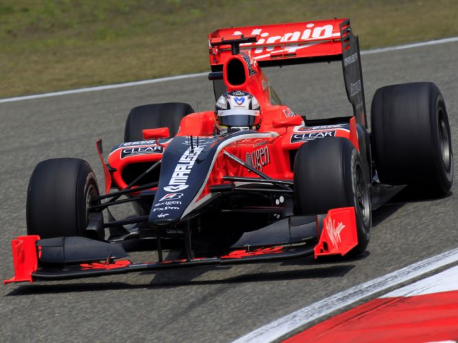 2010 Virgin Racing VR-01 formula-1 formula one f-1 race racing j wallpaper