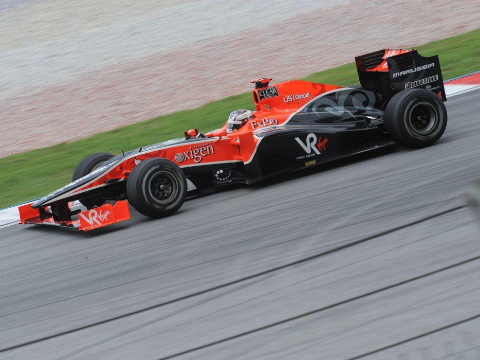 2010 Virgin Racing VR-01 formula-1 formula one f-1 race racing k wallpaper