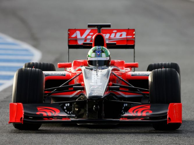 2010 Virgin Racing VR-01 formula-1 formula one f-1 race racing mn wallpaper