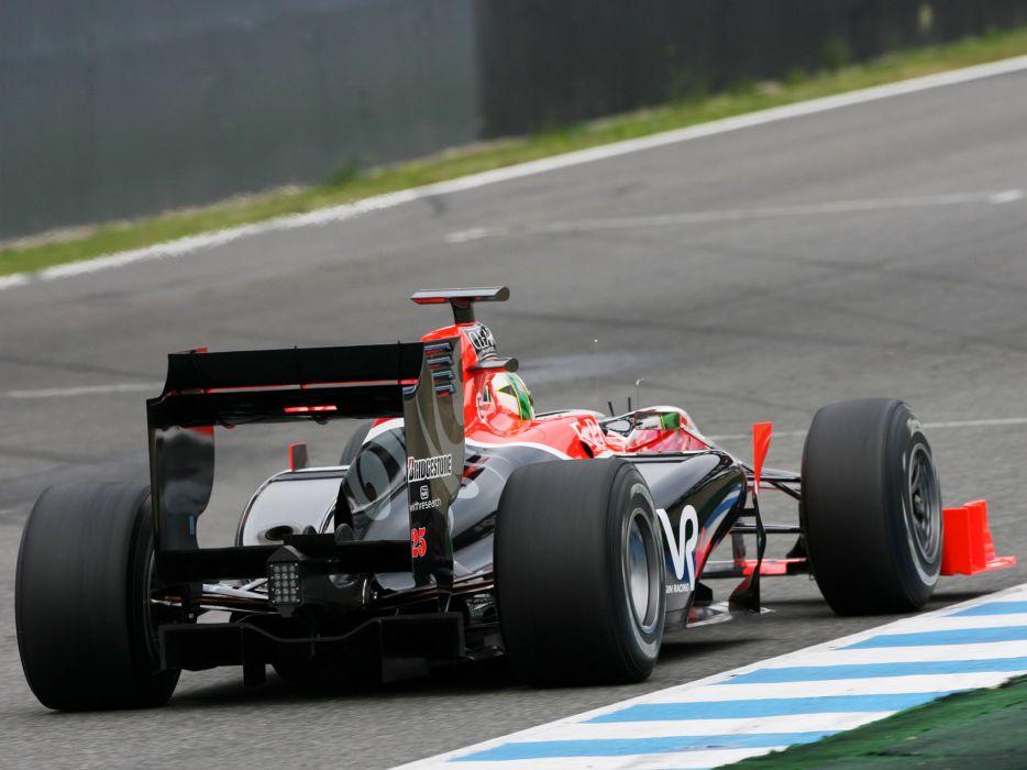 2010 Virgin Racing VR-01 formula-1 formula one f-1 race racing wheel wheels    f wallpaper