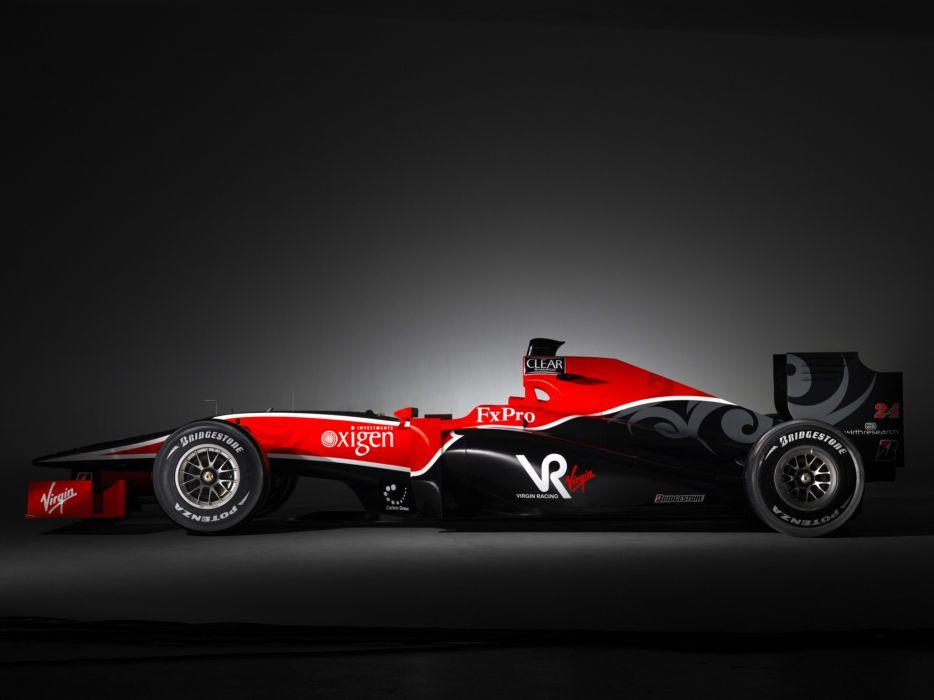 2010 Virgin Racing VR-01 formula-1 formula one f-1 race racing wallpaper