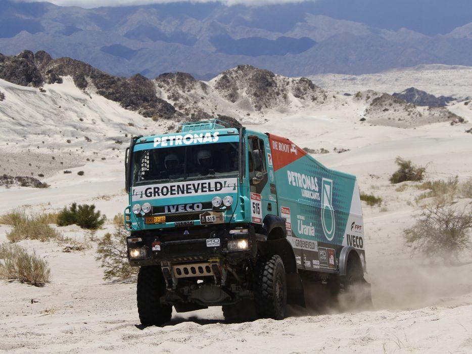 2011 Iveco Trakker Evolution II 4x4 offroad race racing truck tractor semi rig rigs wallpaper