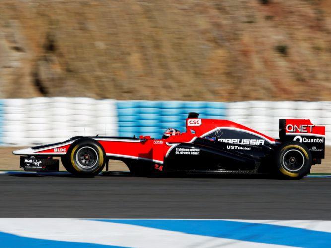 2011 Marussia Virgin Racing MVR-02 formula-1 formula f-1 one race racing d wallpaper