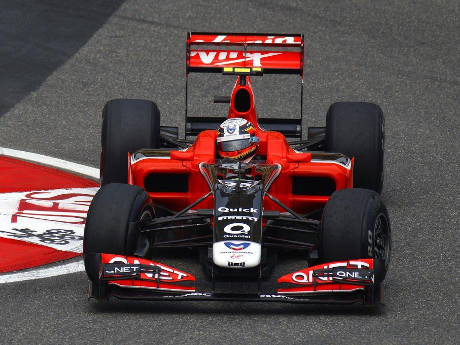 2011 Marussia Virgin Racing MVR-02 formula-1 formula f-1 one race racing   dw wallpaper