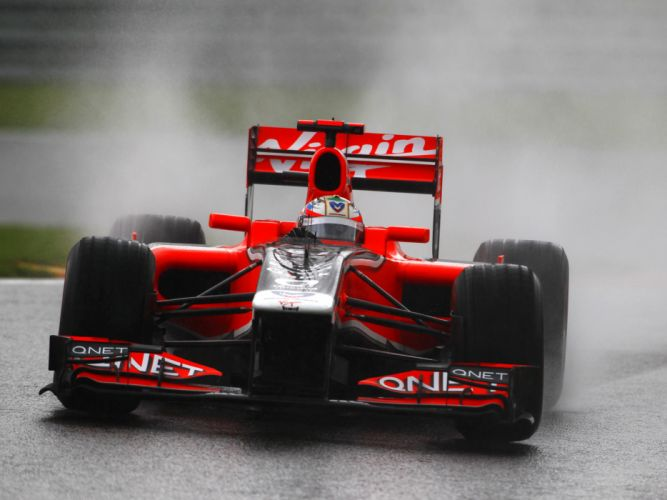 2011 Marussia Virgin Racing MVR-02 formula-1 formula f-1 one race racing dw wallpaper