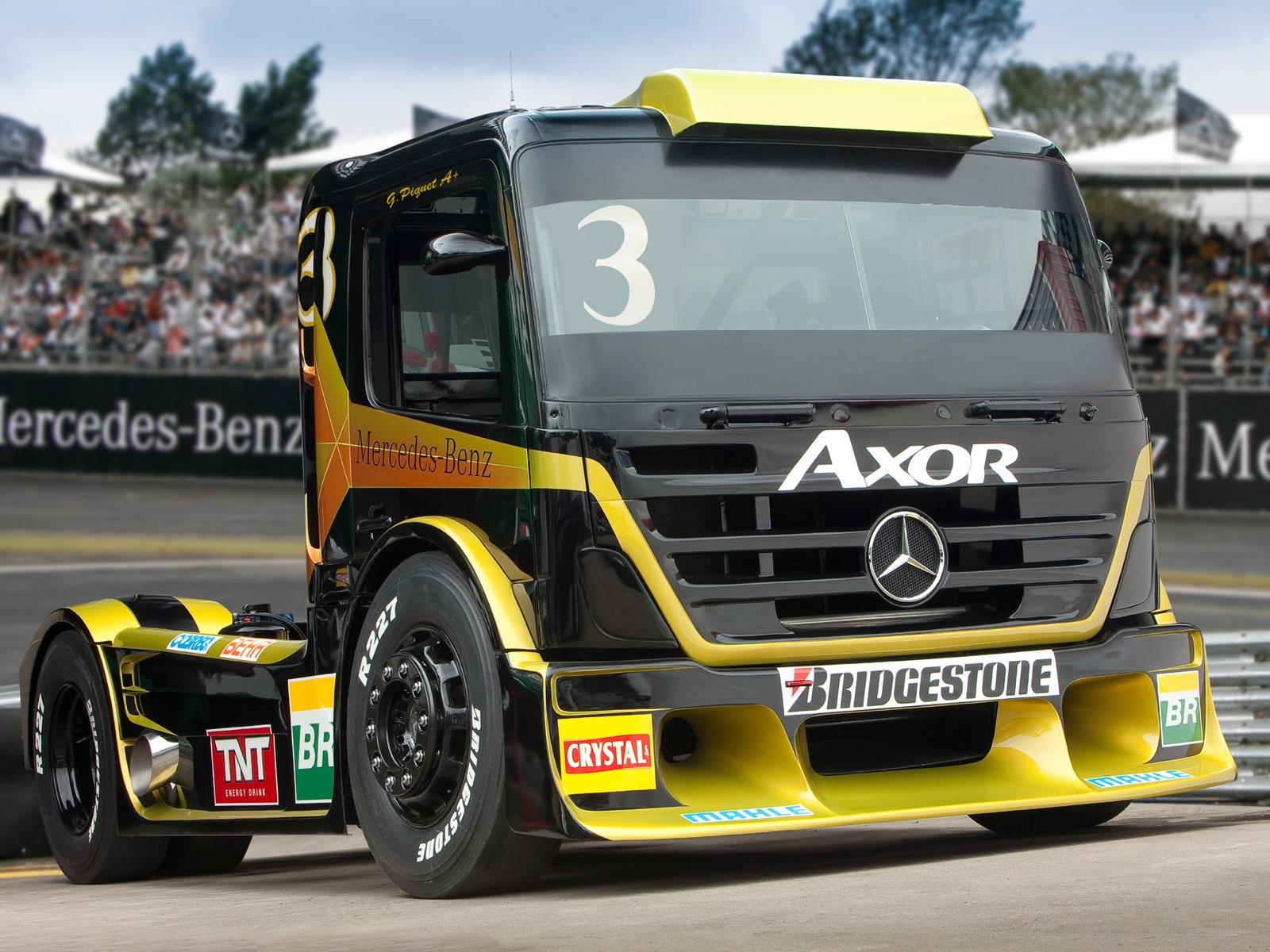 2011 mercedes benz axor formula truck tractor semi rig for Mercedes benz small trucks