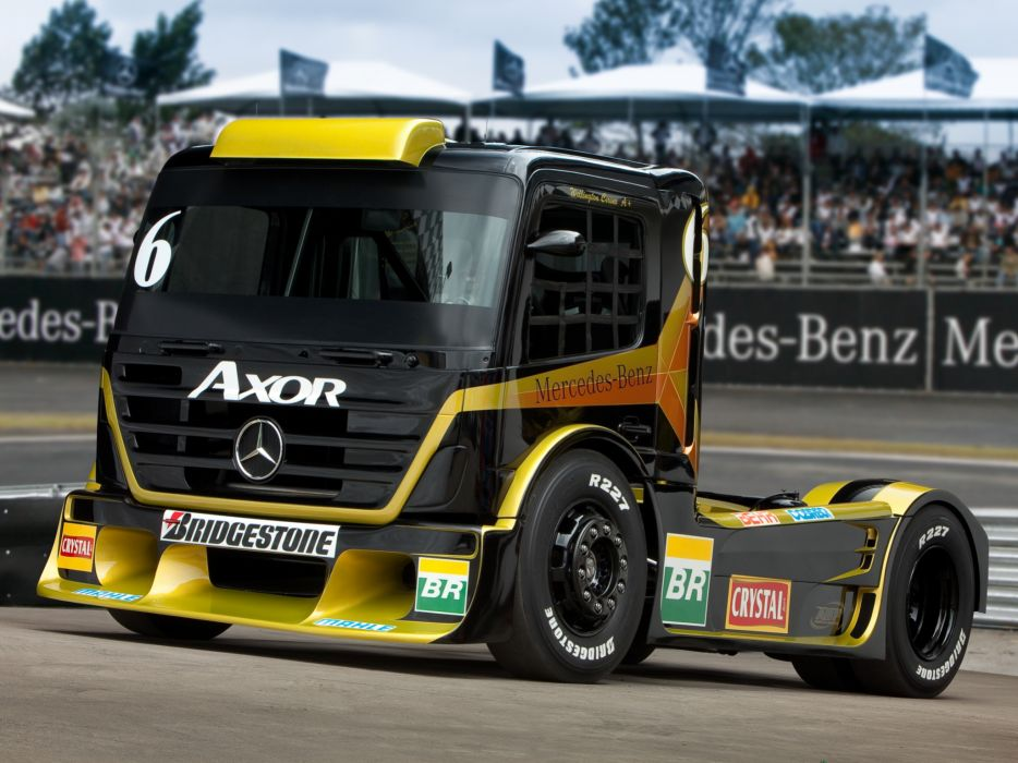 2011 Mercedes Benz Axor Formula Truck tractor semi rig rigs race racing  d wallpaper