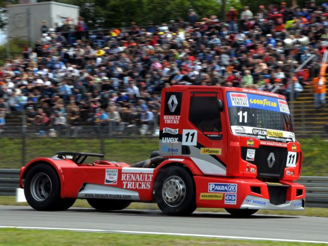 2011 Renault Premium Course Formula Truck tractor semi rig rigs racing race wallpaper