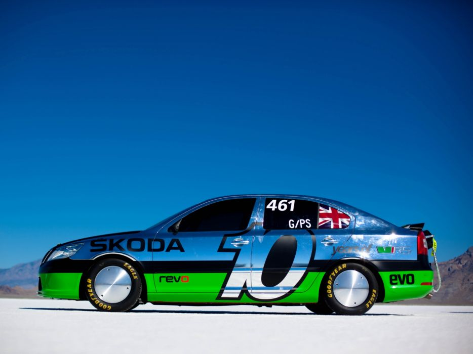 2011 Skoda Octavia vRS Speed Record-Car race racing supercar supercars tuning wallpaper