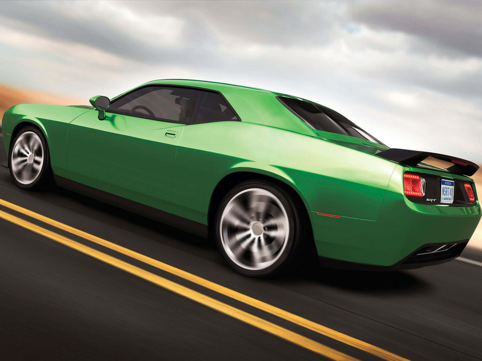 2015 Plymouth SRT Cuda Concept muscle x wallpaper | 1600x1200 | 118467