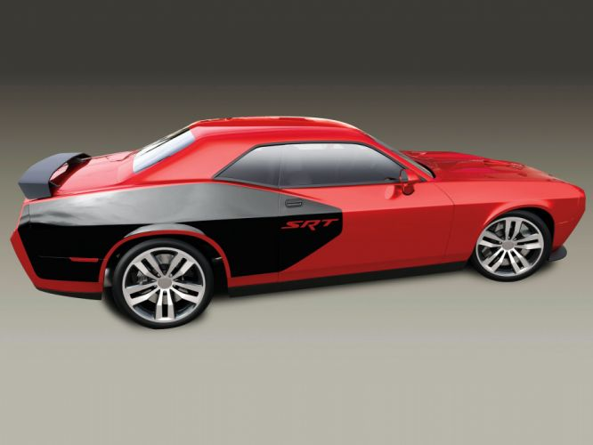 2015 Plymouth SRT Cuda Concept muscle q wallpaper