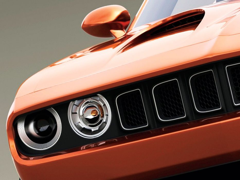 2015 Plymouth SRT Cuda Concept muscle  f wallpaper