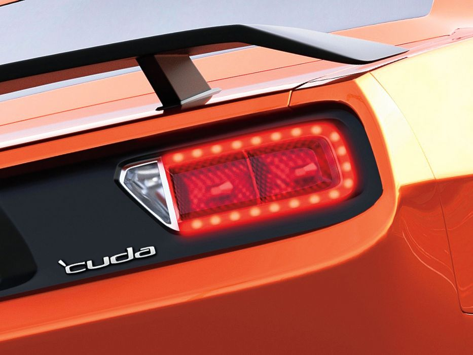 2015 Plymouth SRT Cuda Concept muscle wallpaper