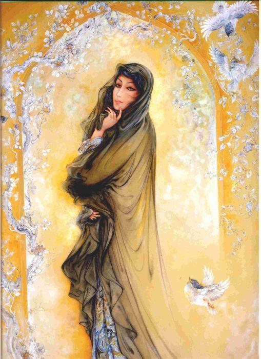 paintings Iran Persian wallpaper