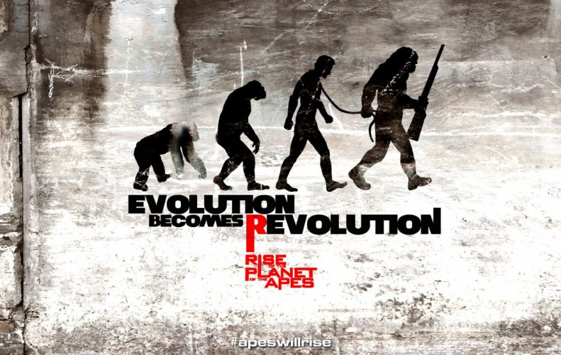typography evolution Planet of The Apes Rise of the Planet of the Apes wallpaper
