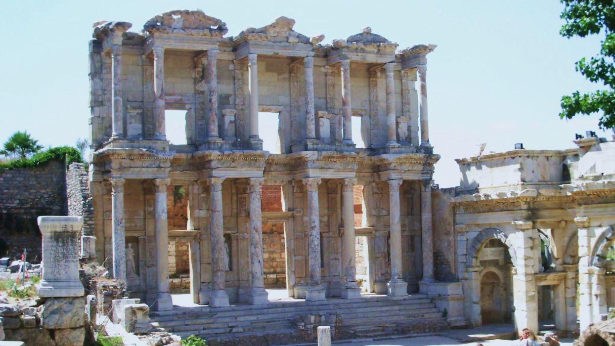 ruins architecture ancient wallpaper
