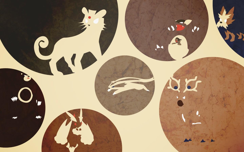 Pokemon Persian Kangaskhan wallpaper | 1440x900 | 118546 ...