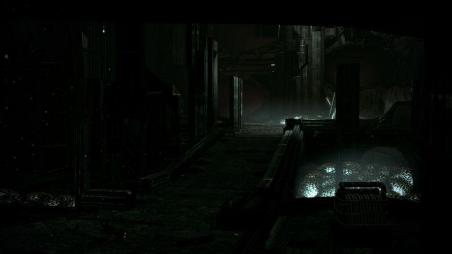 screenshots Mass Effect 2 Collector Base game environments wallpaper