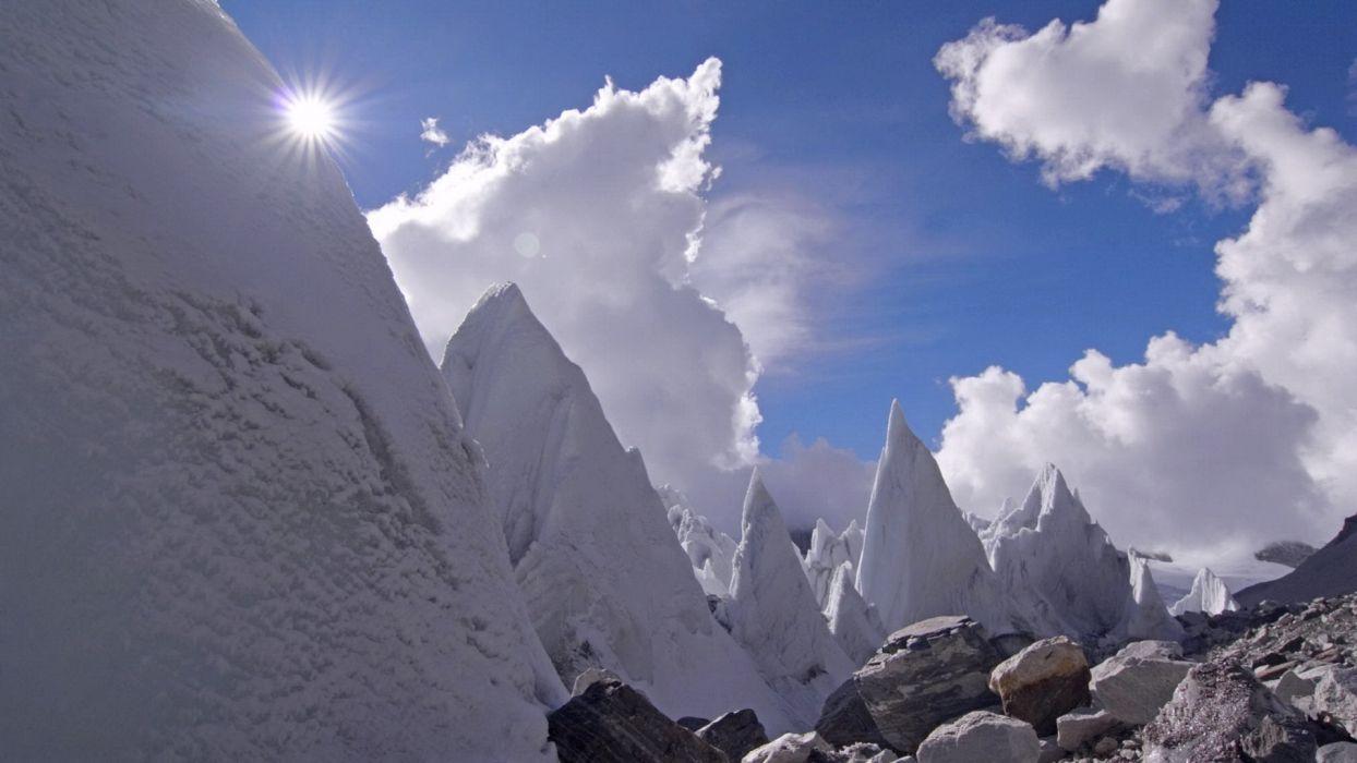 mountains nature wallpaper