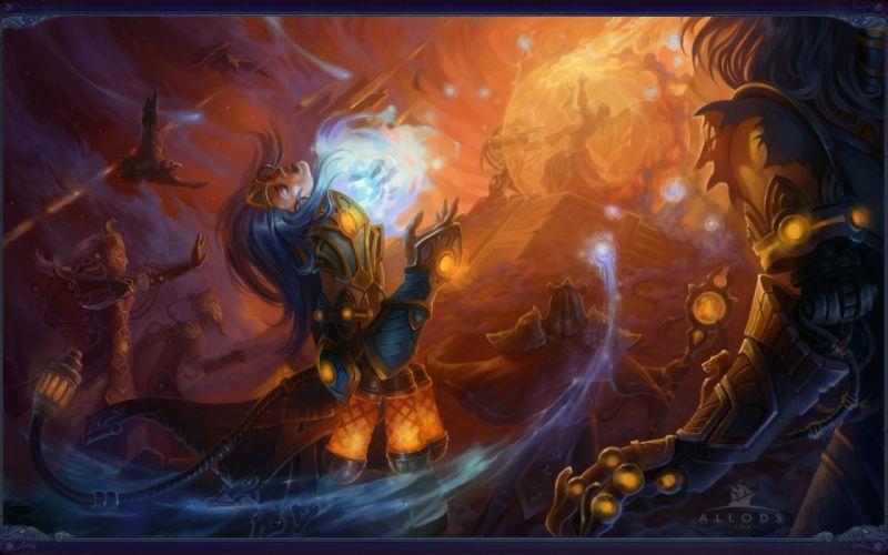 Allods Online fantasy magic wallpaper