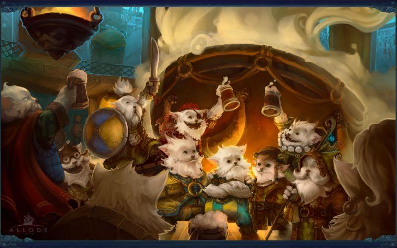 Allods Online fantasy wallpaper