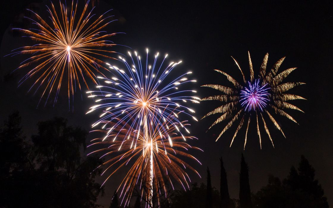 Fireworks Night new year fourth 4th july wallpaper