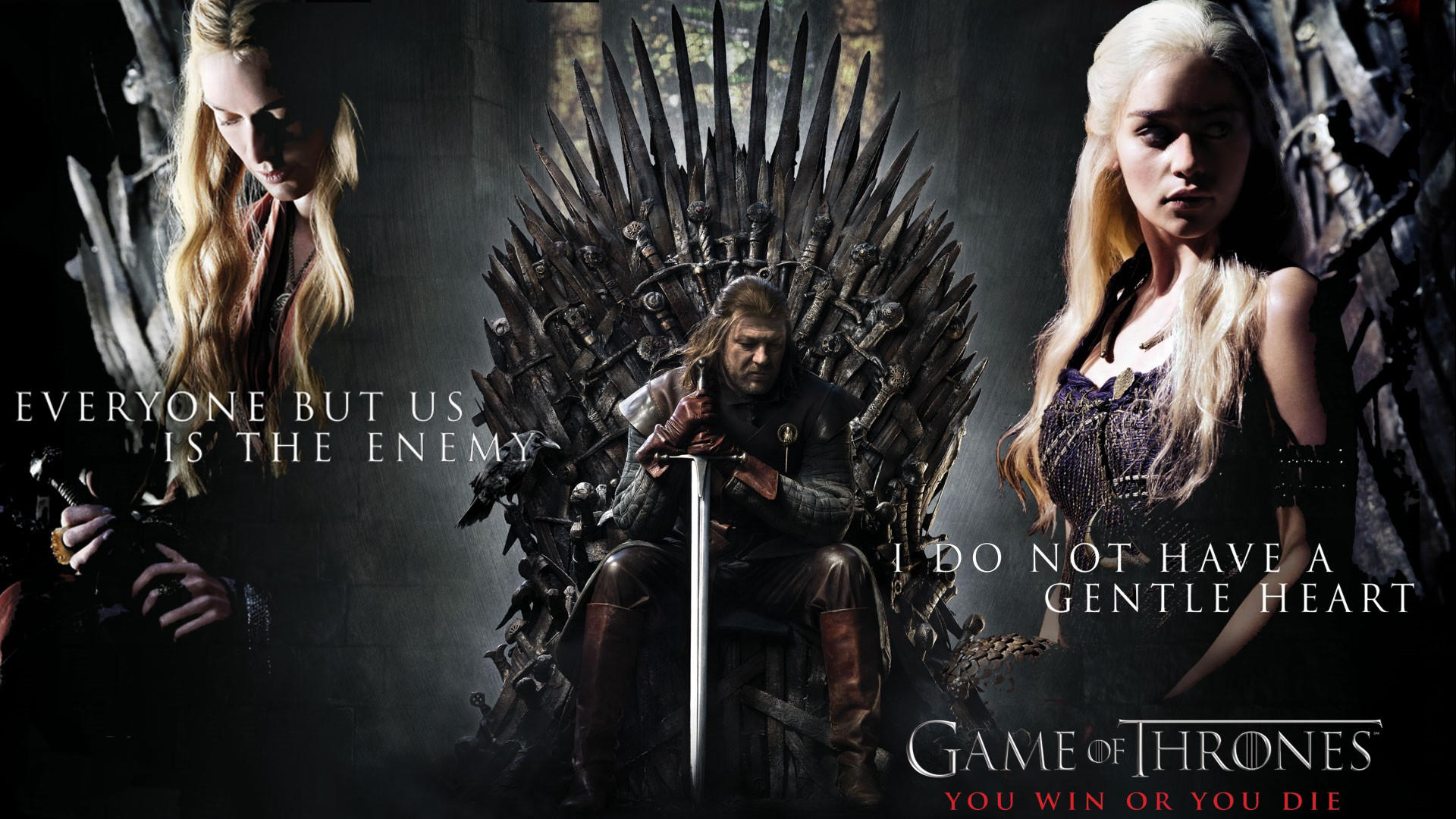 Game Of Thrones Daenerys Targaryen Blonde Emilia Clarke Sean Bean